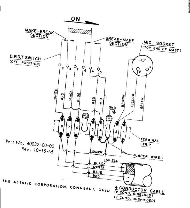 Astatic Mic Wiring | Wiring Diagram on