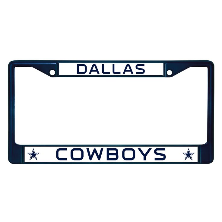 NFL Dallas Cowboys License Plate Frame