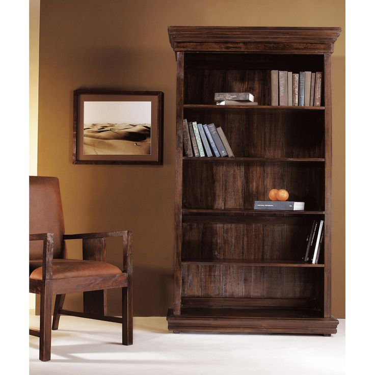 Шкаф книжный Madrid 5 секций. практичный  материал -  цельная древесина, которая обеспечит прочность и долговечность.