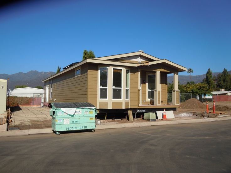 Factory Built or Modular Home construction having only one dumpster of waste is frown upon by the trash haulers