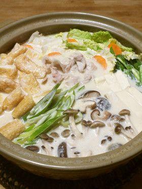 胡麻✤豆乳鍋 by meg115 [クックパッド] 簡単おいしいみんなのレシピが ...