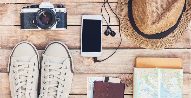 Das sind die besten Apps für die Reise: spontane Hotelbuchung, Reisetagebuch oder Insidertipps.