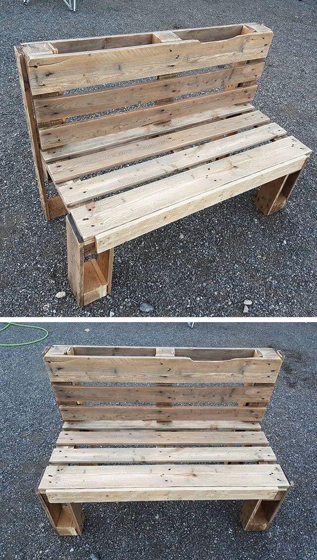 Pallet Bench Ideas Palletbenches Pallet Furniture Outdoor Pallet Diy Pallet Bench Diy