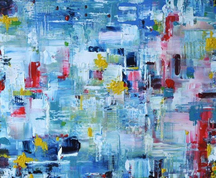 ELEKTROSWING, acryl on canvas, 50 x 60cm, 2014,  BUY IT HERE: http://www.almondarte.com/products/view/10070