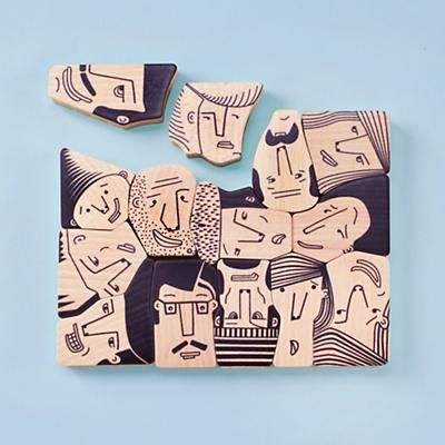 Face It Puzzle - diy it using pre-cut foam core shapes, sharpie markers and…