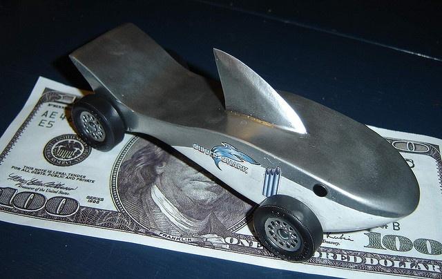 Shark Pinewood Derby Car Template Shark