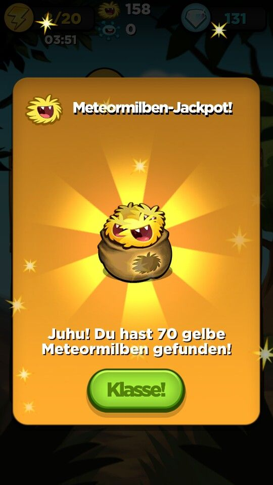Best fiends, special reward popup