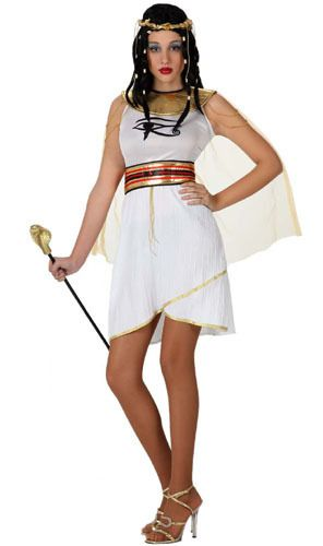 Disfraz de Egipcia Horus para mujer