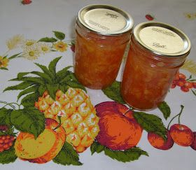 Happier Than A Pig In Mud: Small Batch Canning-Nectarine Jam