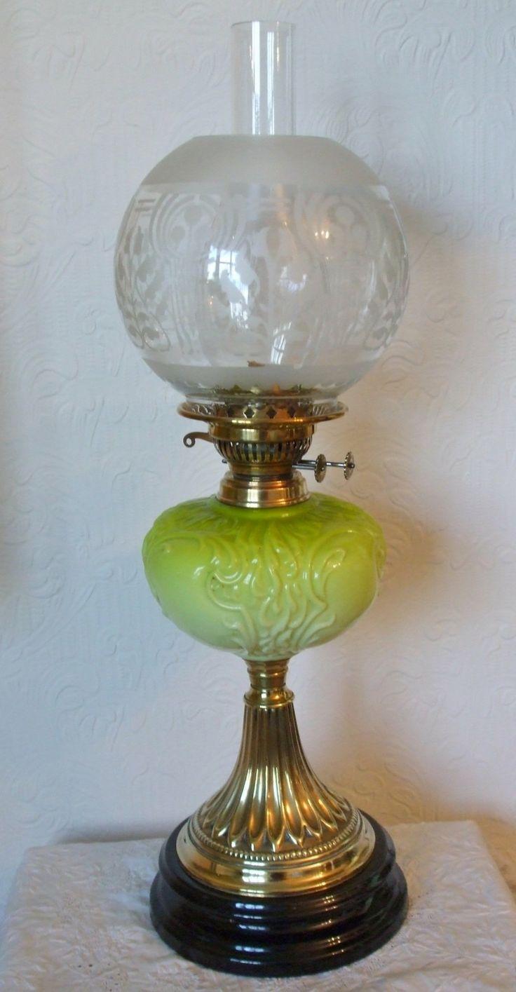 Regent antiques lights antique victorian oil lamp c 1860 - Antique English Victorian Oil Lamp