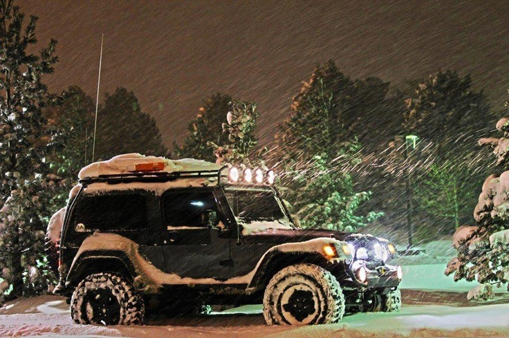 Bring the snow wiith a 4x4 Cool Winter photo - Re-Pinned by www.JeepDreamsUSA.com