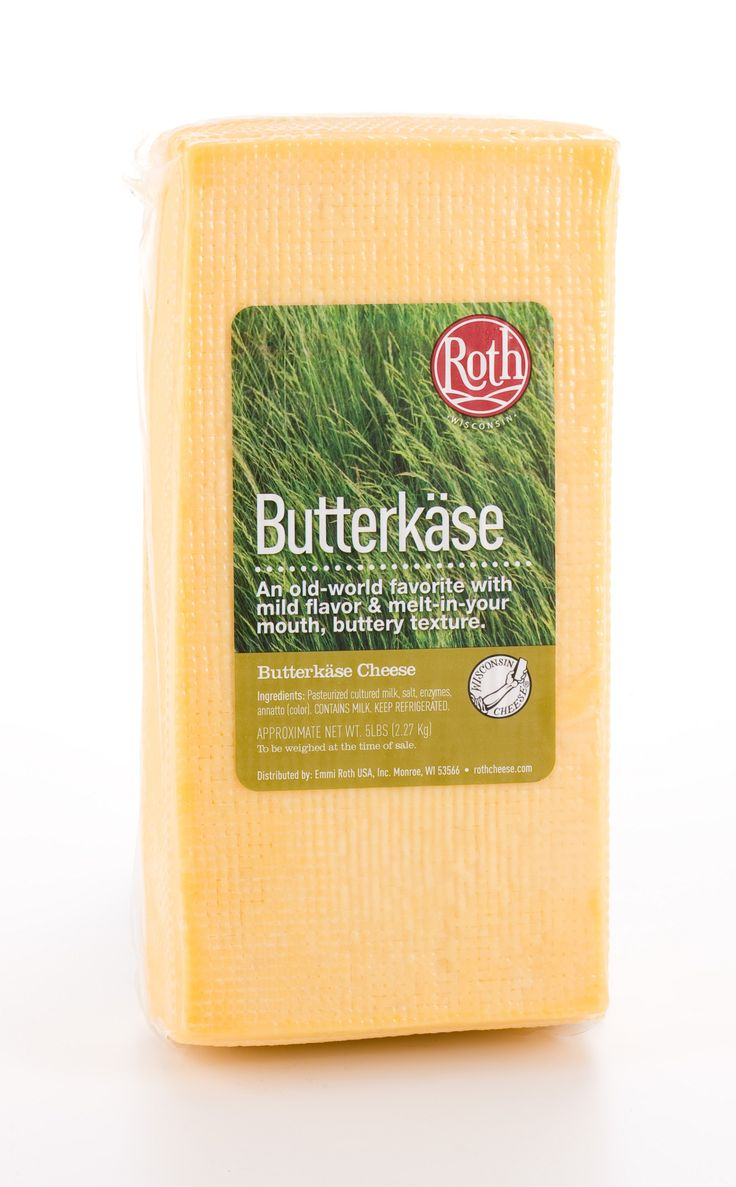 """Butterkase is a semi-soft cheese with a golden natural rind that is very popular for its creamy texture and buttery like taste. Its name, when literally translated means """"butter cheese,"""" but the cheese is butter free. However, the appealing flavour and appearance makes it a great hit on a cheeseboard."""