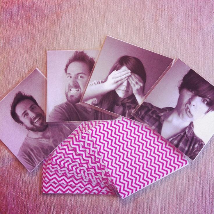 DIY Memory game made with photos