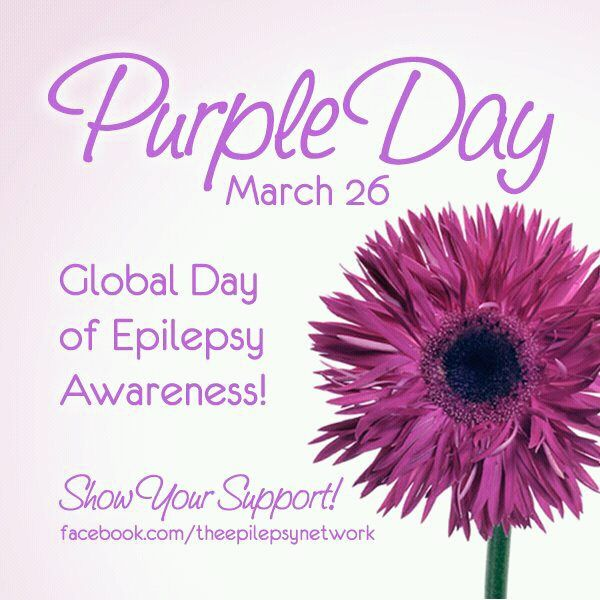 Epilepsy Awareness | Wear Purple Day for Epilepsy Awareness! I'm Rocking my Purple! Are You ...