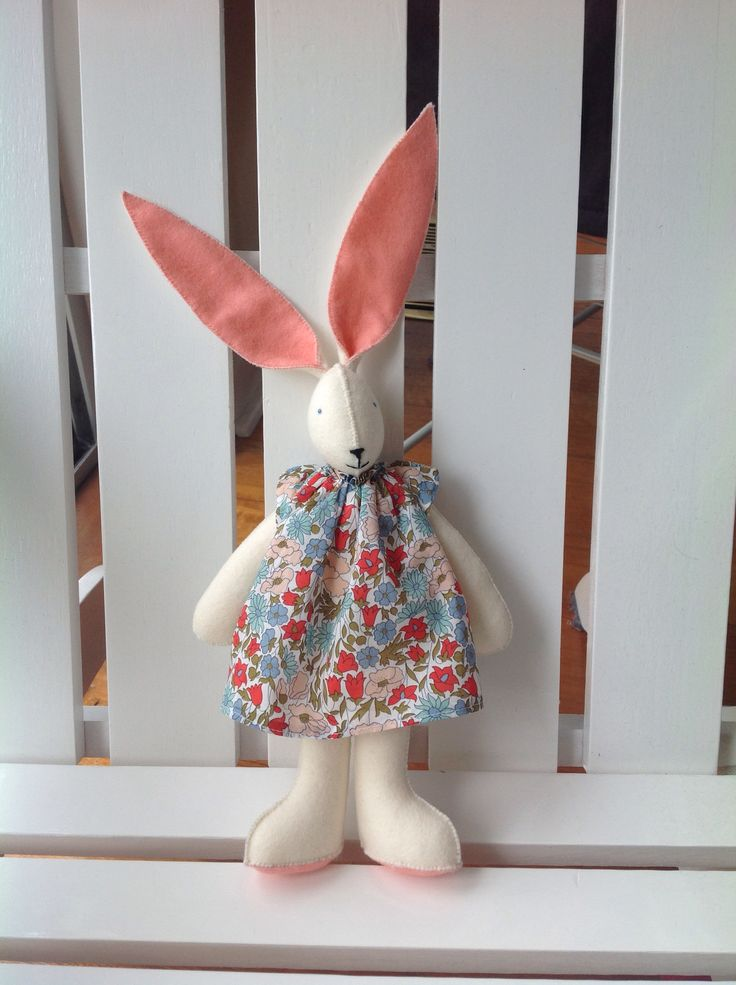 Hare with dress
