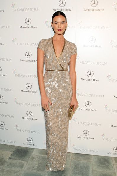 Odette Annable - The Art of Elysium's 7th Annual HEAVEN Gala Presented by Mercedes-Benz - in Pamela Rolland