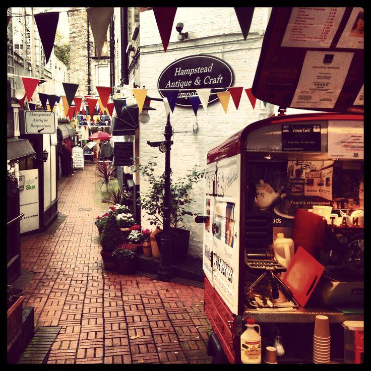 Antiques market