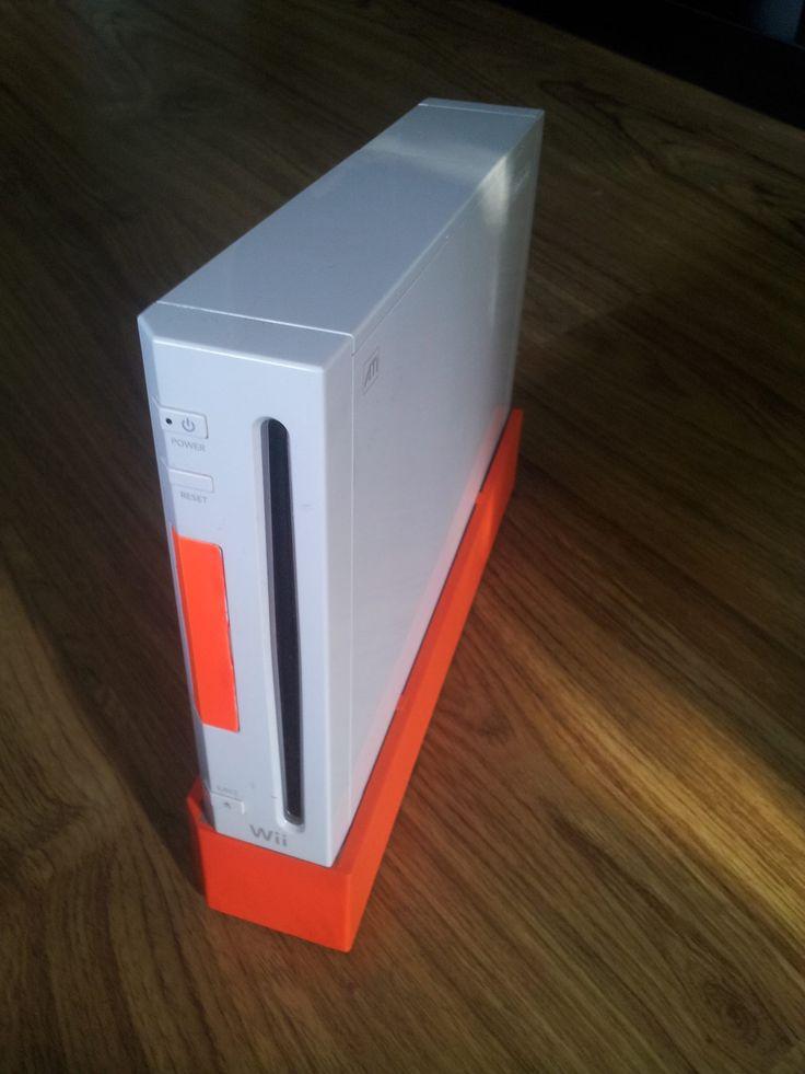 Wii 2 . Orange & white Made by Retro Refabricators http://retrorefabricators.weebly.com/