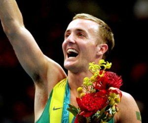 Ji Wallace (born 23 June 1977 in Lismore, Victoria, Australia) is an Australian gymnast and Olympic trampoline champion. Earlier in his career Ji Wallace won several Australian national titles and made an international breakthrough in 1996 by winning gold in the DMT (double mini trampoline) discipline at the 19th Trampoline World Championships in Vancouver.