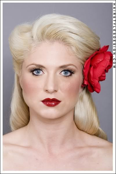 Love this hair and makeup   Wedding   Pinterest   Vintage