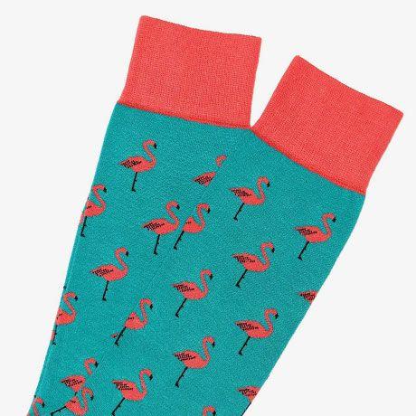 6 Paar Flamingo Socken von Jimmy Lion