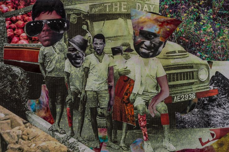 23 the Gown must go to Town - Larry Amponsah - Untitled from A Collective Consciousness of Space and Time - image by Derrick Owusu Bempah
