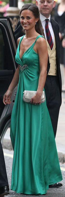I have a feeling we will see much more of Pippa Middleton.  This color is perfection.