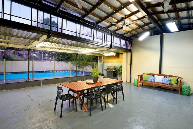 #verandah #concrete #entertainment #interior #design #interiordesign #wooden #pool #bbq #homedecor #deor #Haberfield #auction #sale #forsale