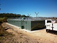 Ozzi Kleen SC825 Containerised on-site Sewage Treatment System