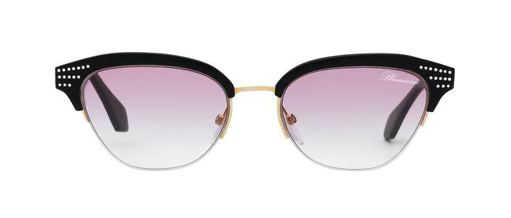Blumarine Spring Summer 2016 Eyewear by Anastacia • Cat-Eye Shaped Eyeglasses…