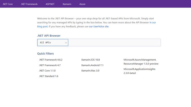 Microsoft Launches .NET API Browser for Easy SDK Discovery: Microsoft's .NET API Browser will provide a single place for documentation of…
