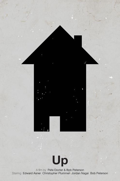 Victor Hertz Pictogram Movie Posters - Up