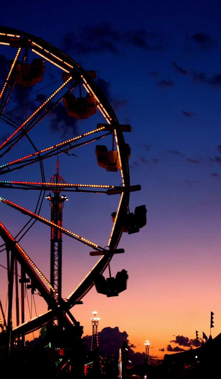 My parents would take me to the carnival at the end of our street every year!