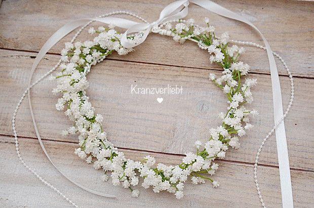 Haarkranz Federn Headpiece Boho Braut Haarschmuck Hochzeit Schongemachtes 3 03 Wedding Hair Wreath Gypsophila Wedding Bridal Hair Pieces