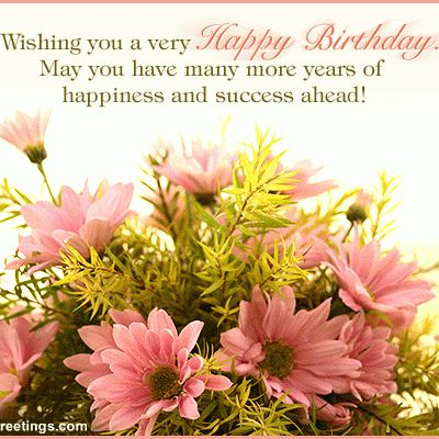 287 best Happy Birthday Flowers images – Happy Birthday Greeting Photo