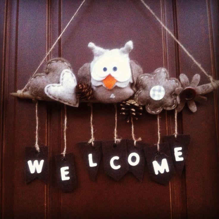 Nuovo gufetto di benvenuto fuori porta