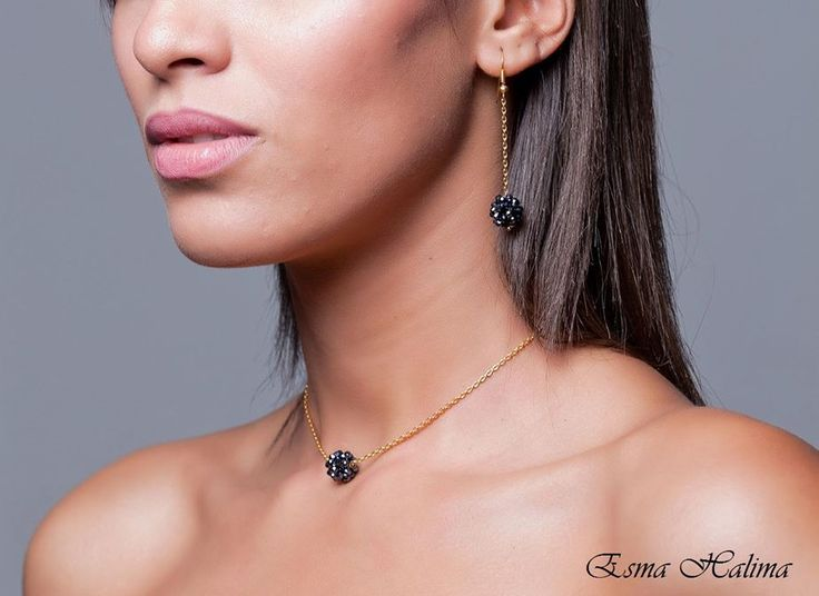 Blackberry #jewelry #joyas #wedding #boda #invitada #fiesta #earring #style #fashion #necklace #chain #accesories #accesorios #esmahalima