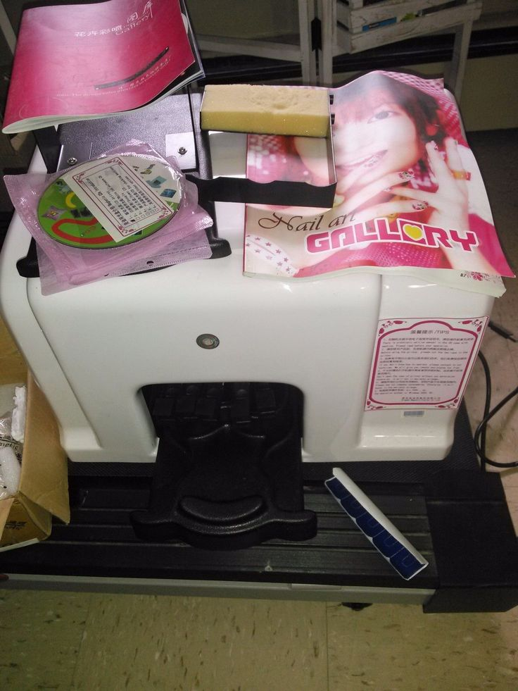 Digital Nail Art Flower Printer Easy To Use - FAST Express Shipping in the US