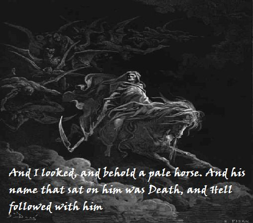 Quotes About Being Pale: The Fourth Horsemen Of The