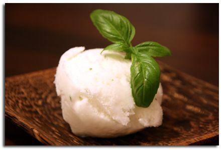 Sorbet citron vert-basilic « Cookismo | Recettes saines, faciles et inventives