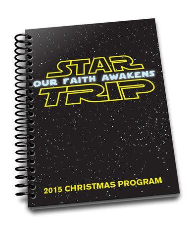 Free Star Wars themed Children's Ministry Christmas Program