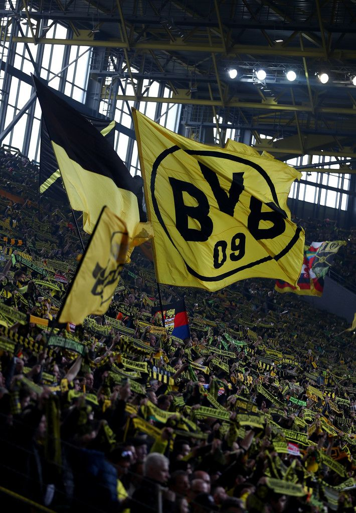 Fans of Dortmund are seen during the Bundesliga match between Borussia Dortmund and Bayer 04 Leverkusen at Signal Iduna Park on March 4, 2017 in Dortmund, Germany.