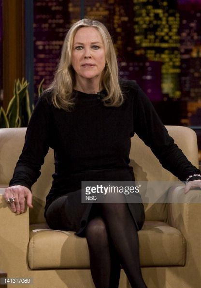 LENO Catherine O'Hara Air Date 2/25/08 Episode 3505 Pictured Catherine O'Hara during an interview on February 25 2008 Photo by Paul Drinkwater/NBCU...
