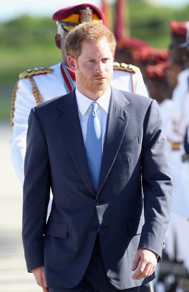 Prince Harry Photos Photos - Prince Harry arrives at V.C Bird International Airport on the first day of an official visit to the Caribbean on November 20, 2016 in Antigua, Antigua and Barbuda..Prince Harry's visit to the Caribbean marks the 35th Anniversary of Independence in Antigua and Barbuda and the 50th Anniversary of Independence in Barbados and Guyana. - Prince Harry Visits The Caribbean - Day 1