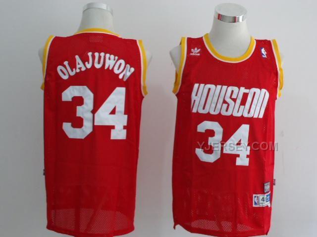 ... Swingman Red Jersey ID httpwww.yjersey.comnba-houston-rockets- · Houston  RocketsSoccer JerseysNba NBA Houston Rockets Hakeem Olajuwon ... 81fc2b386