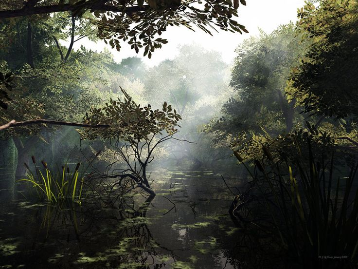 Return to the Swamp by =2753Productions / Digital Art, 3D