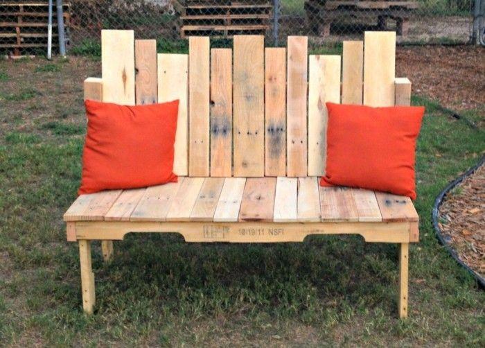 Die besten 25+ Selber bauen sitzbank Ideen auf Pinterest - gartenliege aus paletten selber bauen