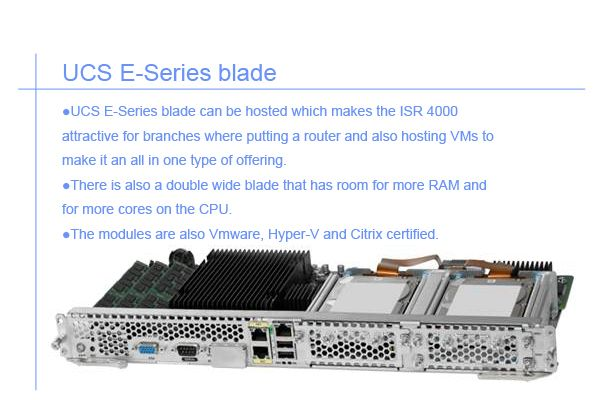 UCS E-Series blade module | Cisco Cards | Router switch
