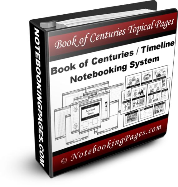 History Timeline / Book of Centuries Notebooking System