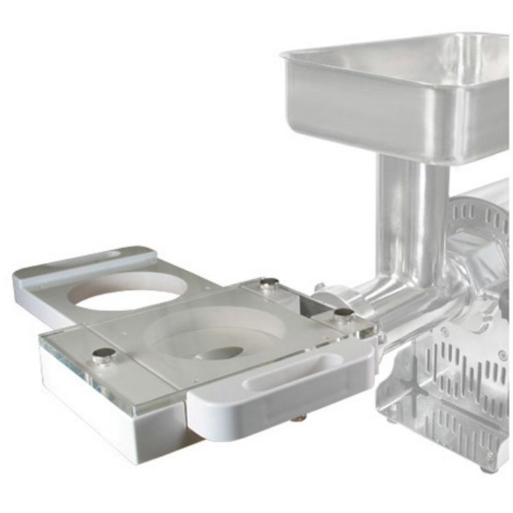 Weston Automatic Rapid Patty Burger Maker Meat Grinder Attachment - 07-0901-W